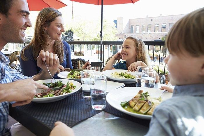 restaurante para familias con hijos